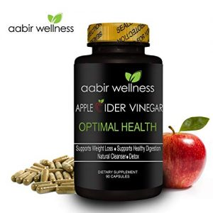 Aabir Wellness – Powerful Apple Cider Vinegar Capsules 350mg – 90 day supply, All Natural Weight Loss, Detox, Digestion & Optimal Health, Powerful Kelp and Spirulina blend, Manufactured in the USA