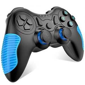 BEBONCOOL Wireless Controller for Nintendo Switch Remote Pro Controller Gamepads – Blue Anti-Skid