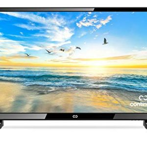 """28"""" LED HDTV by Continu.us   CT-2860 High Definition Television 720p 60Hz Eco-Friendly TV, Lightweight and Slim Design, VGA/HDMI/USB Inputs, VESA Wall Mount Compatible."""