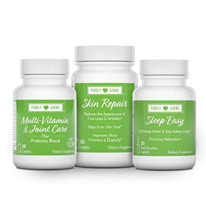 Healthy Living Kit- Radiant Skin, Better Sleep, Joint & Digestive Health, 30 Day Supply