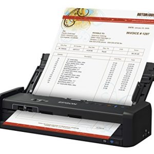 ES-300WR Wireless Color Portable Duplex Document Scanner Accounting Edition for PC and Mac, Auto Document Feeder (ADF)