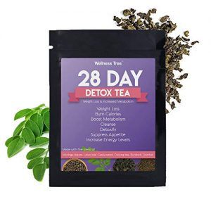 28 Day Detox Slimming Tea – Ultimate Teatox Detox Tea (28 Tea Bags). All Natural Cleanse for Weight Loss. Great Tasting Tea- Boosts Energy and Reduces Bloating